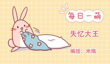 肥喵与兔纸第236话 失忆大王
